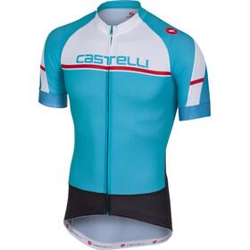 Castelli Distanza FZ Jersey Men sky blue